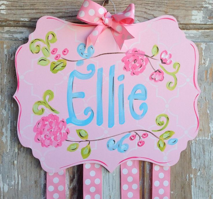 Our beautiful boutique quality hair bow holders are the perfect solution for your little girl to store and organize her own bows and add a classy design to her decor.