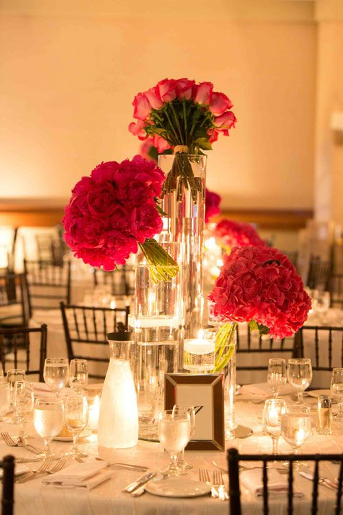 60 best wedding centrepieces images on pinterest wedding for Wedding reception centrepieces