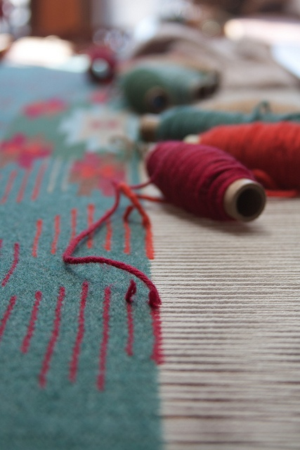 Weaving Loom by kmat, via Flickr