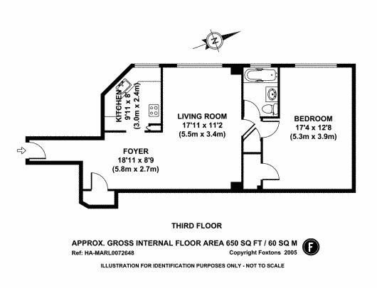 1 Bedroom 1 Bathroom Parkchester Bronx New York Apartment And Condominium Floor Plan Total