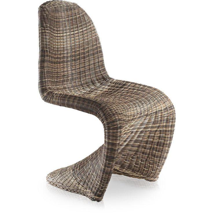 Cadeira Panton Fibra Sintética - Rivatti