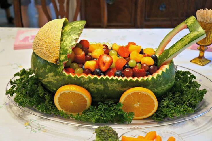 babywatermelon basket