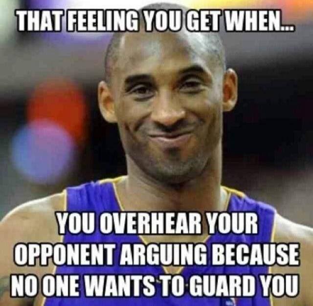 LOL Kobe knows - http://nbafunnymeme.com/uncategorized/lol-kobe-knows