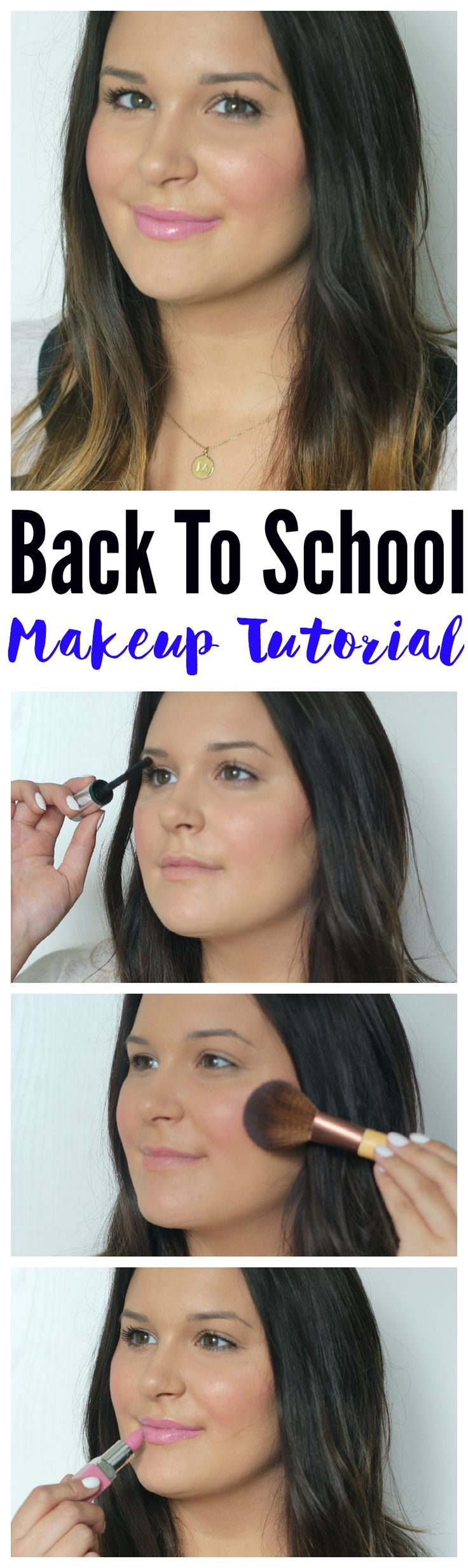 Heading back to school? Try out this back to school makeup tutorial in under 10 minutes! @Clinique #ad