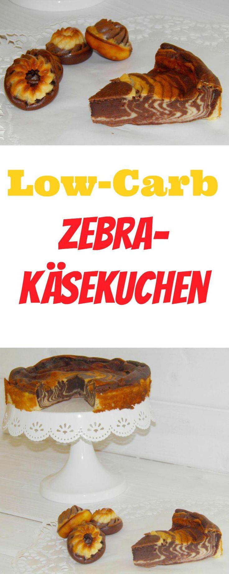 Der Thermomix Low-Carb Zebra - Käsekuchen ist wieder einer von der ganze schnellen Sorte. Alles rein in den Mixtopf, kurz rühren und fertig. Ich mag ja unheimlich gerne Käsekuchen (oder russischen Zupfkuchen). Allerdings braucht man da immer einen Boden und den muss man dann noch ausrollen, was ich gar nicht gerne mache. Außerdem ist es dann immer gleich so ein 26 cm – Riesending. Daher gibt es heute für Euch den Thermomix Low-Carb Zebra-Käsekuchen in der praktischen 20 cm Durchmesser-Form.