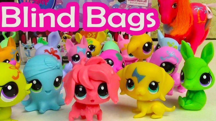 Lps Blind Bag Haul Littlest Pet Shop Party Stylin Pets Box