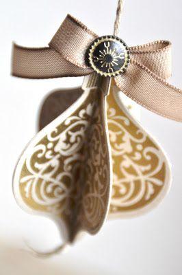 Bestempelt - Bettina und Maria: Ornament Savanne-Gold