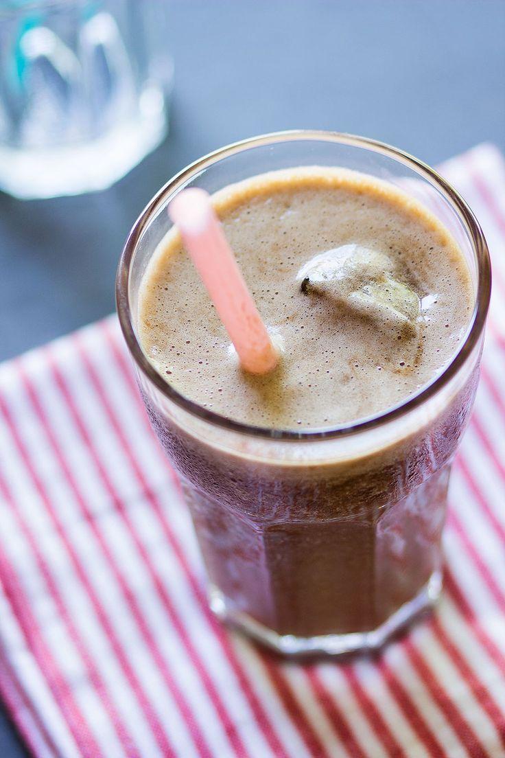 Romige ijskoffie gezonde variant