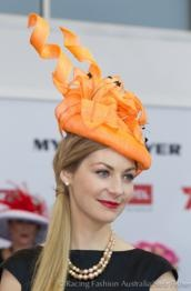 Hats Have It: Millinery Award at Melbourne Cup Carnival 2012, Congratulations Lynette Lim