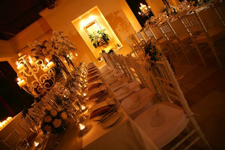 Dining w/ Tiffany chairs and custom candelabras   at Bayuh Sabbha Estate w/ @BaliUltimate @Heliconia_Bali