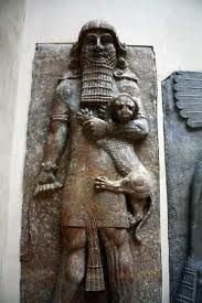 Takhte Jamshid,  Jamshid is described as the fourth and greatest king of the epigraphically unattested Pishdadian Dynasty (before Kayanian dynasty). Jamshid is a mythological figure of Greater Iranian culture and tradition. this   is exhibited in Louvre museum.