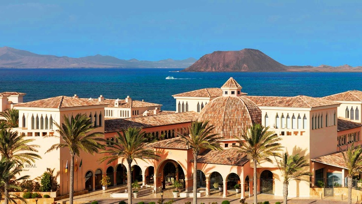 Gran Hotel Atlantis Bahia Real - Corralejo, Fuerteventura, España - a hidden jewel not far from the beautiful corralejo beach