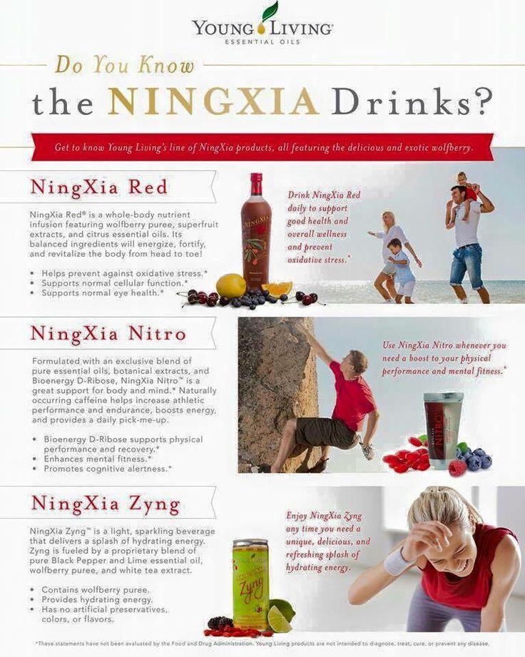 Young Living NingXia Red, Nitro & Zyng