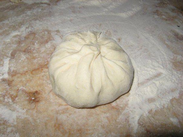 Лепёшки с начинкой. Дагестанское блюдо