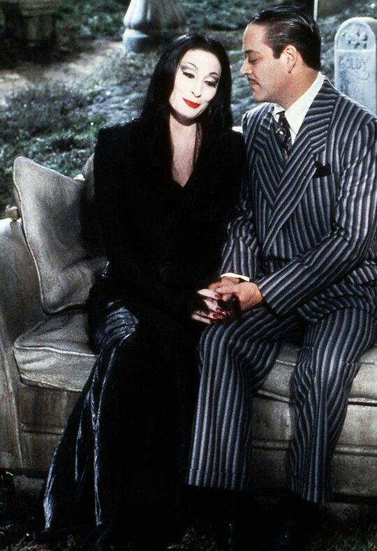Morticia and Gomez -- The Addams Family 1991                                                                                                                                                                                 More
