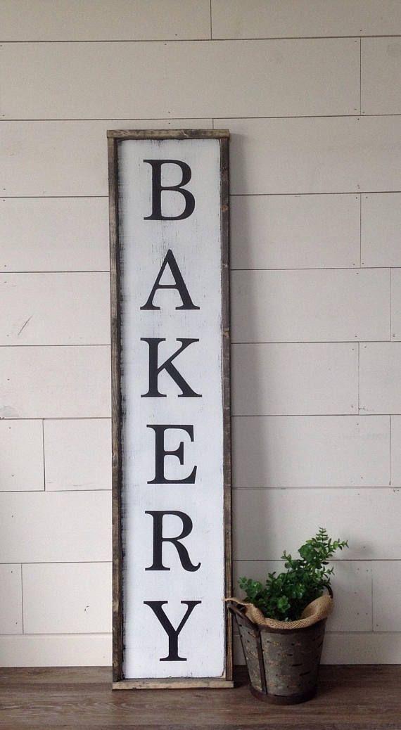 Kitchen Decor Bakery Signs