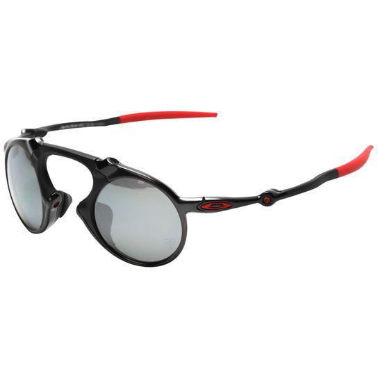 Óculos Oakley Ferrari Madman Dark Carbon - Iridium Polarizado - Preto