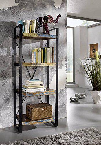 regal industrial lackiert farbe bunt material eisen industrie und vintage m bel pinterest. Black Bedroom Furniture Sets. Home Design Ideas