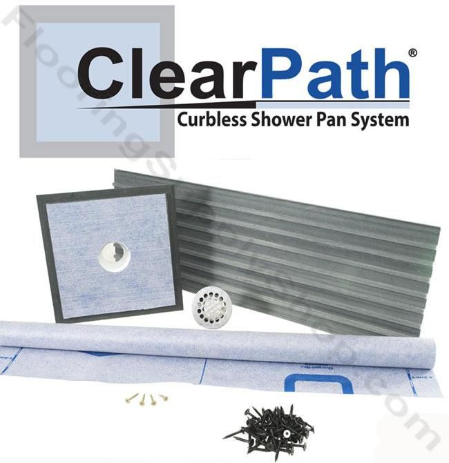 curbless shower designs clearpath curbless shower pan system clearpath curbless shower pan