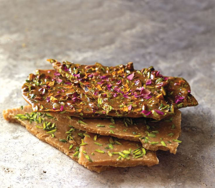 Cardamom–pistachio butter fudge from Qom recipe from Saraban by Greg Malouf | Cooked