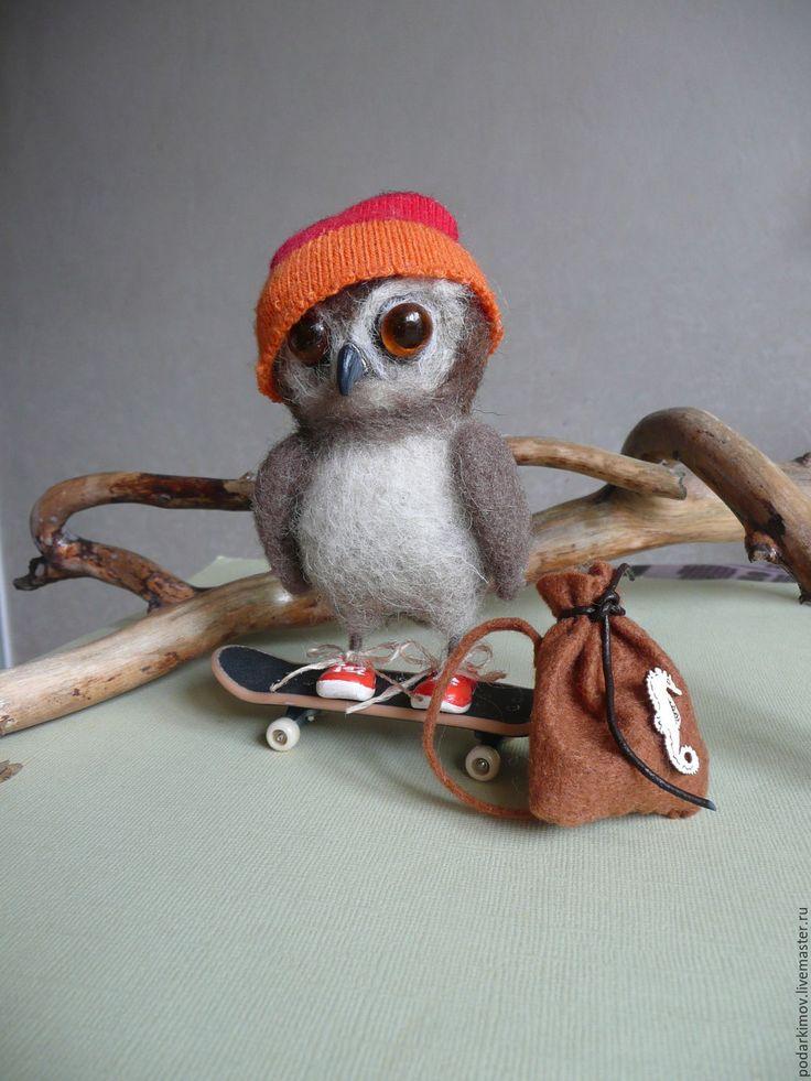 картинки сова на скейте сообщил радостную