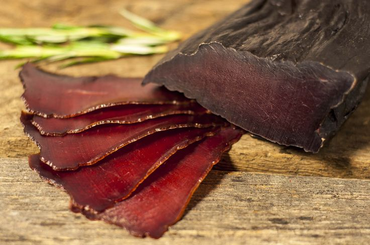 RED DEER BRESAOLA (KOSHER STYLE)   We feel that Red Deer meet is our finest product, which is due to the traditional process of preparation, making it finer than Wild Boar. During marinating the juniper berries combined with bay leaves and white pepper gives an amazing taste to our Red Deer bresaola – it's also lean and low in cholesterol too.