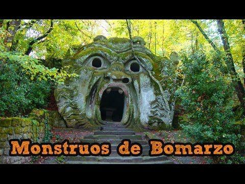 Parque de los Monstruos de Bomarzo en #Italia vía videoblog de #Viajology
