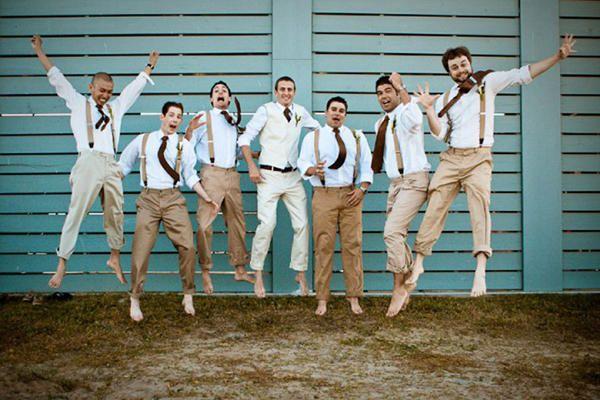 Estilo look para noivos e padrinhos - Blog: www.caseaqui.com.br