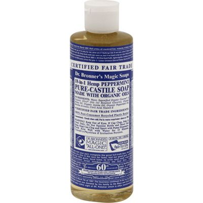 Dr. Bronners Organic Castile Soap – Peppermint – 8 oz « Blast Groceries also available in other scents, multipurpose, MUST TRY OUT FIRST