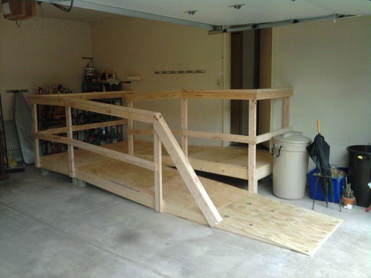 Garage wheelchair ramp schematics