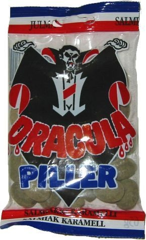 Dracula Piller salmiakkipastilli
