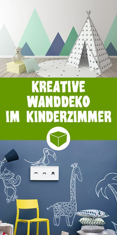Simple Kreative Wanddeko f rs Kinderzimmer