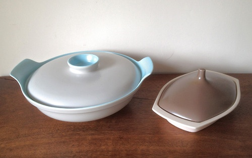 A couple of Poole Twintone lidded dishes heading to http://www.killruddery.com/the-killruddery-farm-market/    For further details contact Paul retrorumage@gmail.com