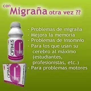 Lo mejor para la migraña!