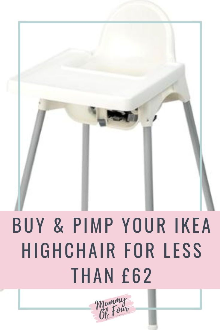 Buy & Upgrade Your IKEA Antilop Highchair for under £62