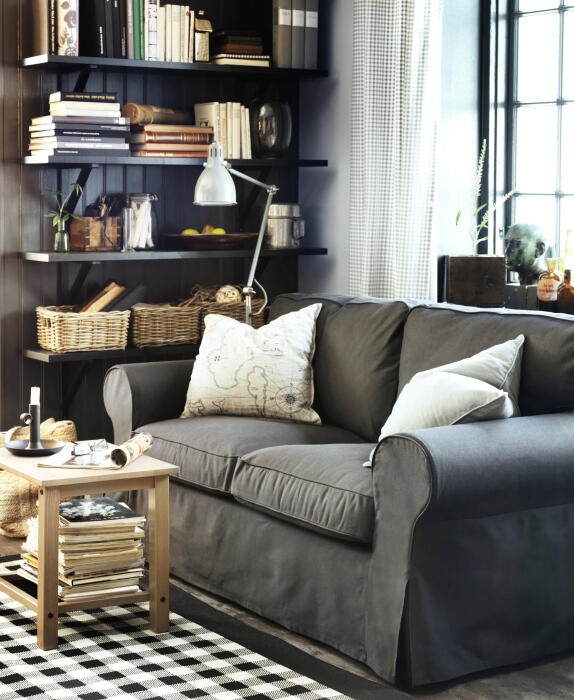 1000 ideas about charcoal couch on pinterest living for Does ikea deliver same day