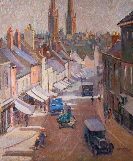 Bishop Street, Coventry by Clara Joan Murphy