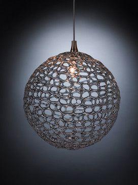 Foyer - Mod Glass Pendant Light - contemporary - pendant lighting - Ohr Lighting