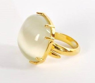 Ref:.An.114981  Anel em prata dourada, com pedras hidrotermais. Comprimento: 2,2 cm  Ring in golden silver, with hydrothermal stones. High: 2,2 cm