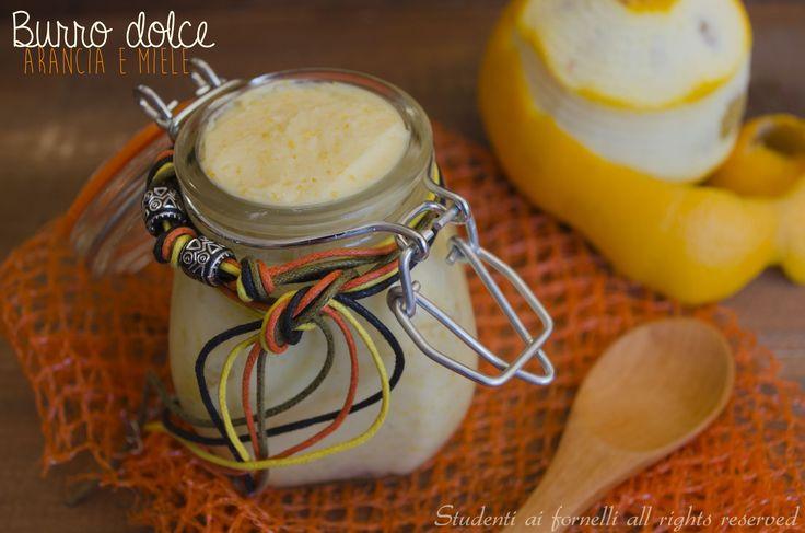 Burro dolce arancia e miele Idea regalo di Natale