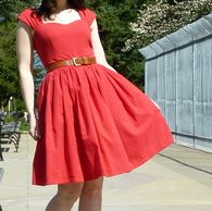 Cambie Dress by Sewaholic Patterns, View B