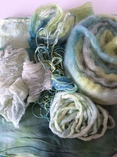 Filz-Woll-Lust: Wir filzen weiß und färben bunt