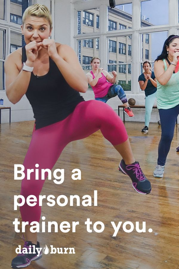 Get streaming workout videos at a fraction of the cost of a personal trainer with DailyBurn. Start your 30-day free trial and choose from a variety of workouts, each ranging from 15 minutes to an hour, and all available on your favorite device.