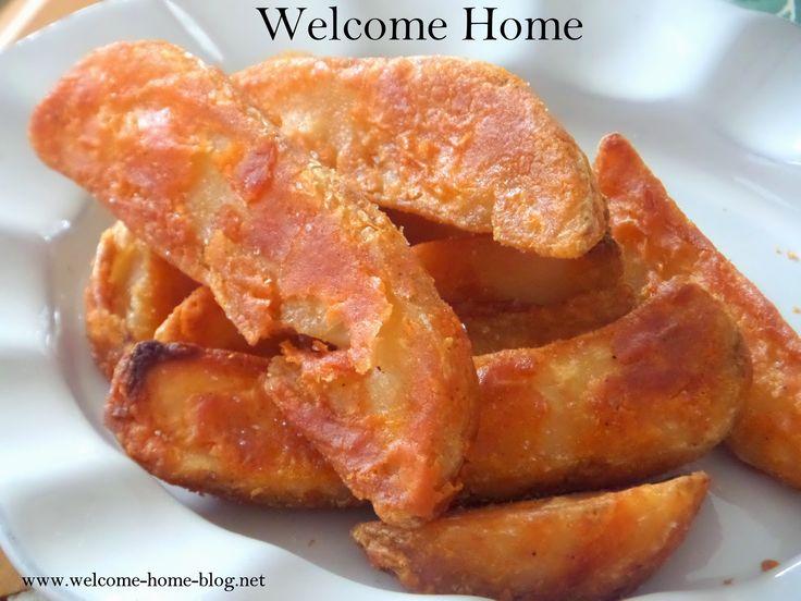 Welcome Home Blog: Seasoned Potato Wedges