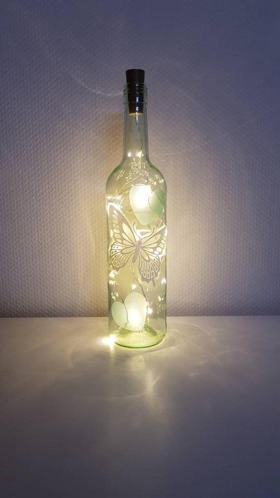 14+ Flasche mit beleuchtung basteln Trends