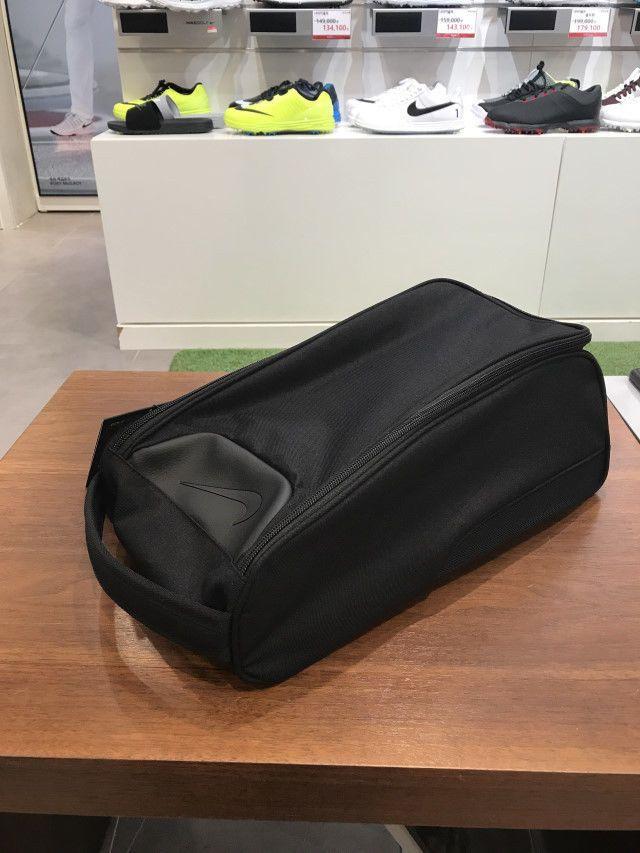 Nike Golf Departure III Tote Bag Organizer Pocket Black Shoes Bag  GA0253-001  Nike 947d2a5cb0