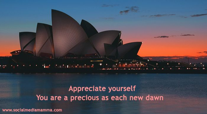 I LOVE the Sydney Opera House. Like the quote too.