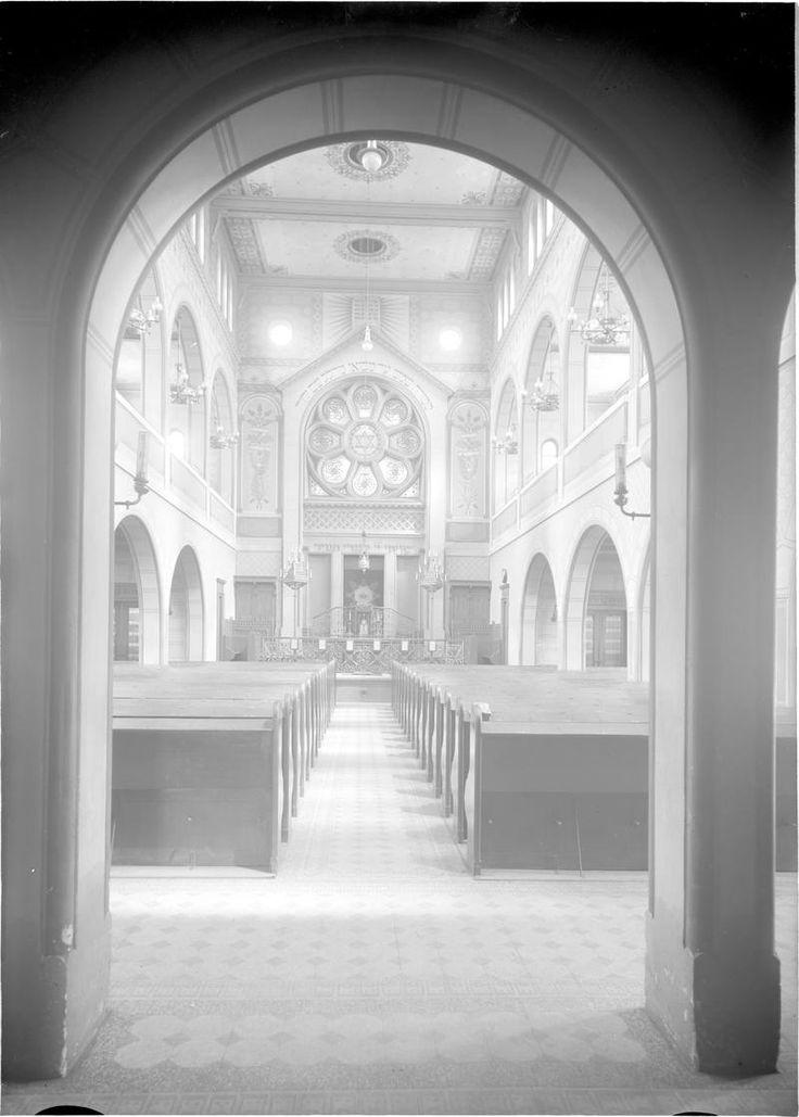 Brno, interiér Nové synagogy