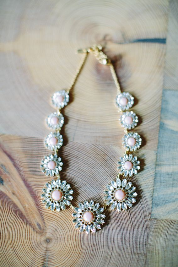 Pink statement necklace. Kate Spade.  | photography by http://julia-wade.com/