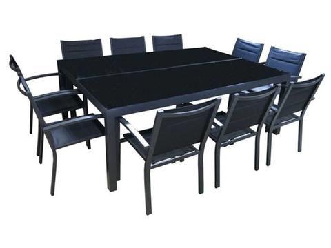 Outdoor Furniture - Hayman 11pc Dining